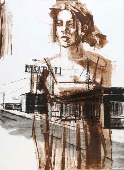 Motel Woman